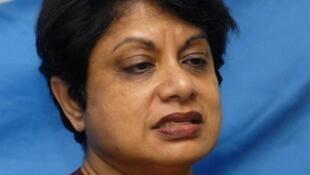 Radhika Coomaraswamy, représentante spéciale de l'ONU pour les enfants et les conflits armés.