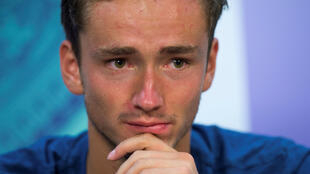 Daniil Medvedev was fined for his actions during and after his second round loss at Wimbledon.