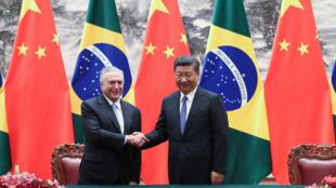 """Fim da 9ª Cúpula do Brics na China. Para o presidente Michel Temer, viagem à China é """"sucesso absoluto""""."""