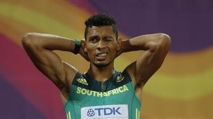 Wayde van Niekerk is attempting to win both the 200m and 400m at the same world championships.
