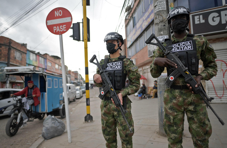 colombie bogota police militaire insécurité violence criminalité