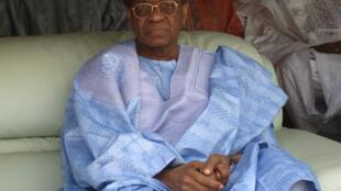 L'ancien président nigérien Mamadou Tandja, renversé lors d'un coup d'Etat, le 18 février 2010.