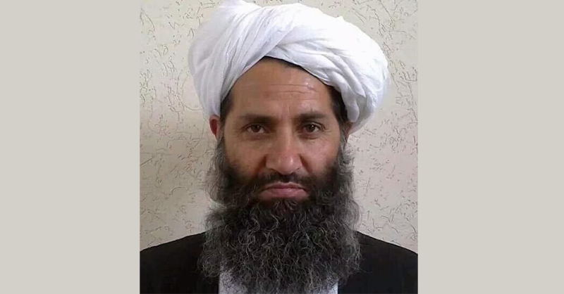 رهبر گروه طالبان، هیبت الله آخوندزاده، با انتشار بیانیه ای اعلام کرد که درهای گفتگو با آمریکا باز است.