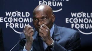 Le président sénégalais Abdulaye Wade en 2007 au World Economic Forum on Africa à Cape Town (Afrique du Sud).