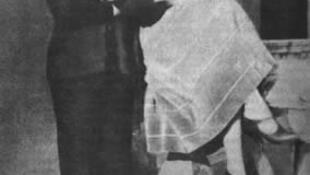 La escritora rusa Nina Berbérova, que narró la vida de los exiliados rusos en París, junto a su esposo, el escritor Vladislav Jodasévich en Sorrento en 1925.