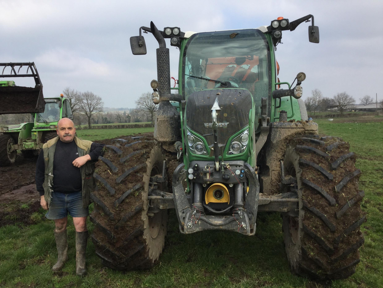 Michel Senom, agriculteur dans le Limousin