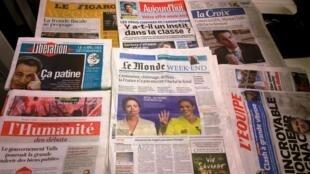 Diários franceses 03/10/2014