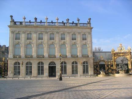 La façade du musée des Beaux-Arts de Nancy