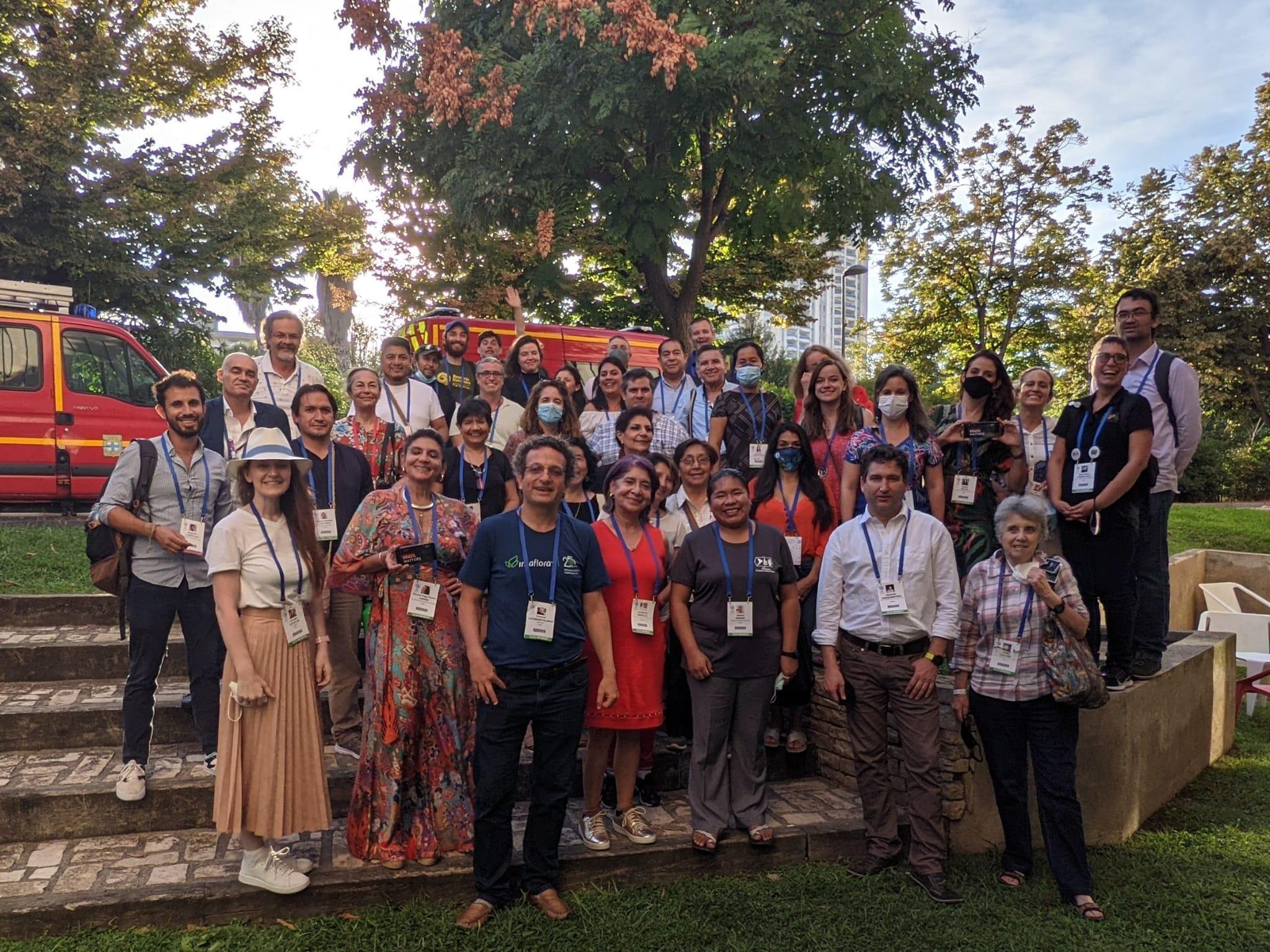 Delegação da América do Sul no congresso da IUCN tem 46 integrantes em Marselha.