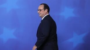O presidente François Hollande, que será anfitrião da Conferência do Clima de 2015, em Paris, disse que os europeus déao o exemplo para americanos e chineses.