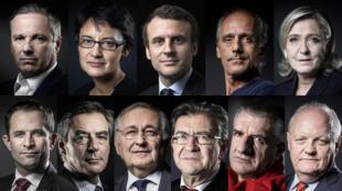 یازده نامزد انتخابات ریاست جمهوری فرانسه برای جلب تمایل رای دهندگان بیشتر به خود، تنها تا ساعت ٢٤ جمعۀ آینده فرصت دارند.