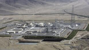 Une vue du projet  d'Arak, à 190 km (120 miles) au sud-ouest de Téhéran.
