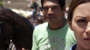 Bassem Samra (Mahmoud) et Menna Chalaby (Rim) dans «Après la bataille», de Yousry Nasrallah.