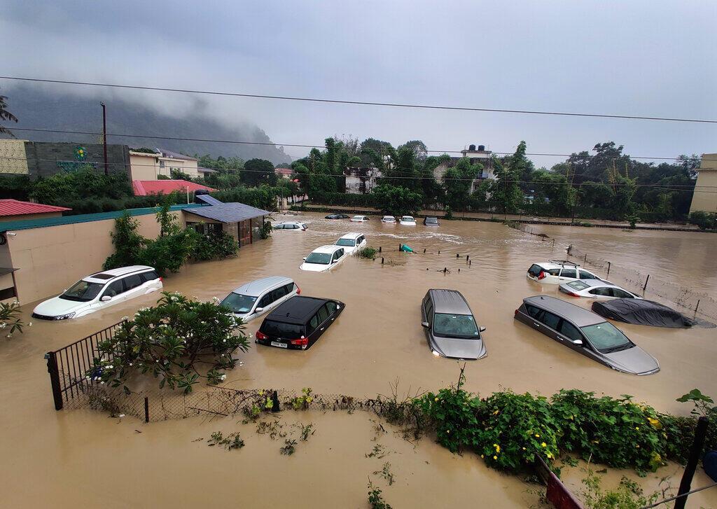 Índia enchentes