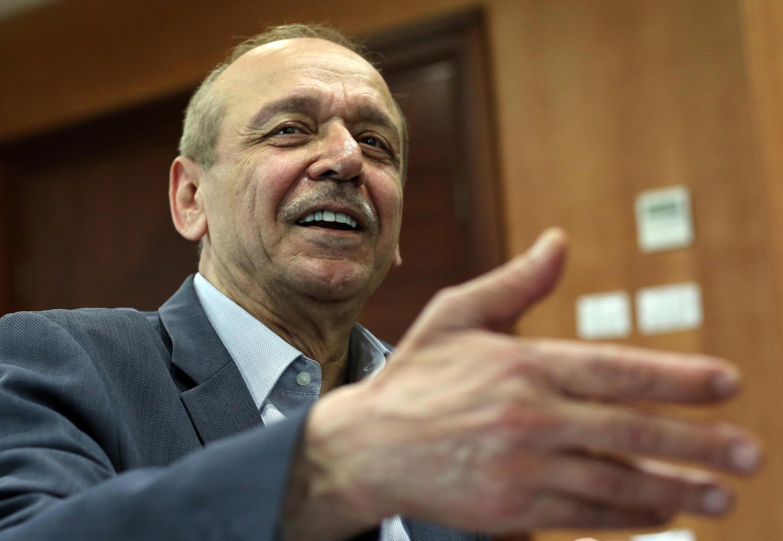 O secretário-geral da OLP, Yasser Abed Rabbo.
