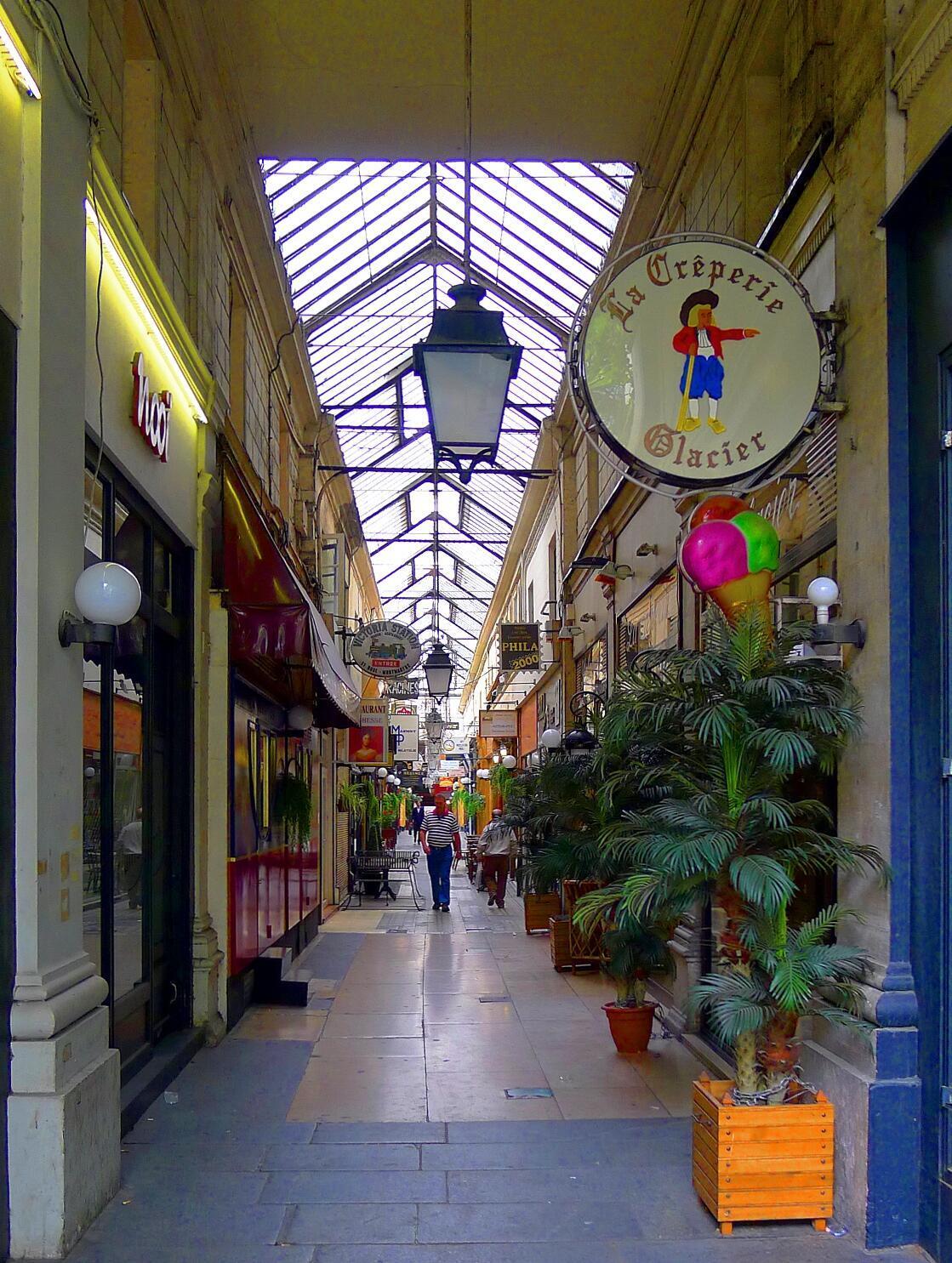 Passage des Panoramas, en el distrito 2 de París.