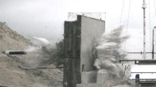 آزمایش یک موشک سنگرشکن