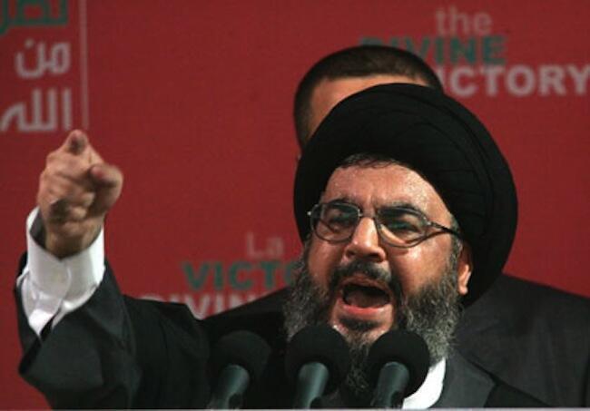 Katibu mkuu wa Hezbollah Hassan Nasrallah