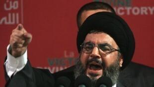 Kiongozi wa kundi la Hezbollah Hassan Nasrallah