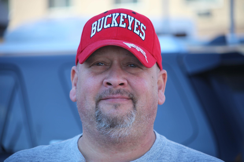 Stephen Barkham, a Trump supporter
