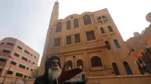 Десять человек погибли в результате нападения на прихожан церкви в пригороде Каира Хельван.