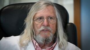 Polémico epidemiologista francês Didier Raoult, que defende a utilisação da hidroxicloroquina, associada a um antibiótico como tratamento da pandemia de Covid-19.