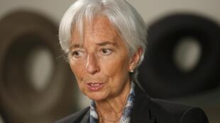 国际货币基金组织总干事拉加德女士