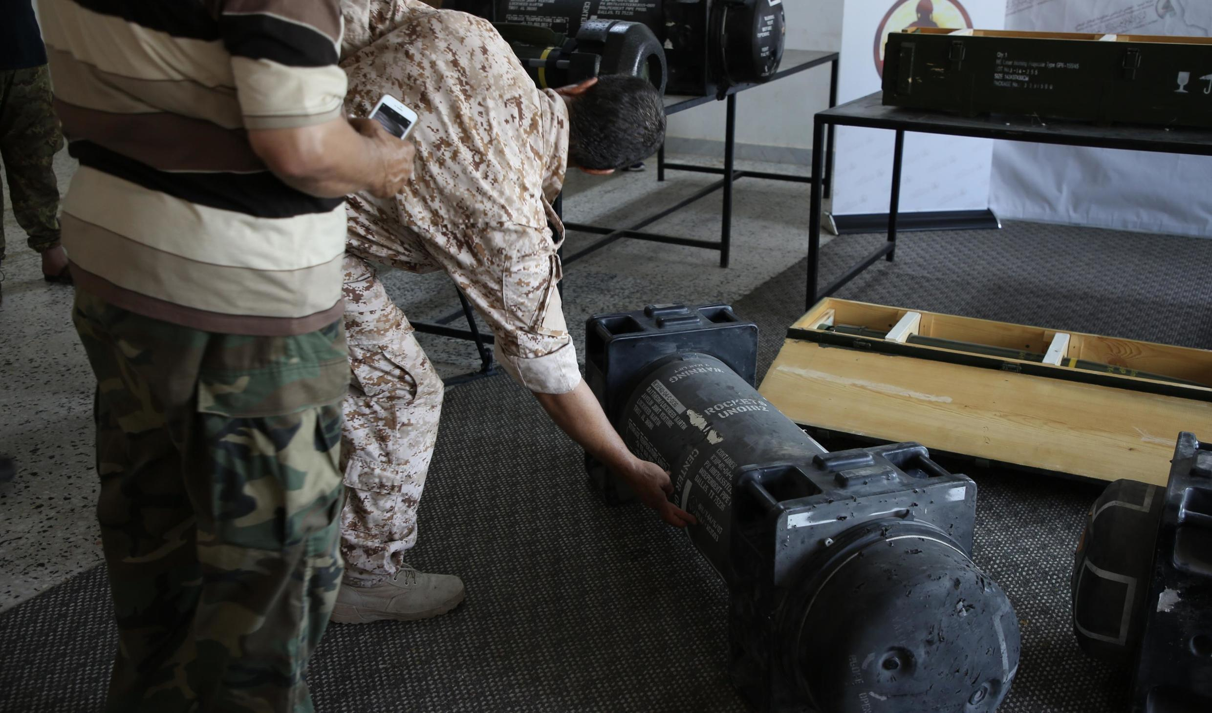 The French defence ministry said on July 10, 2019 that its missiles had been found on a base used by forces loyal to Libya's Khalifa Haftar, but it denied supplying them to the rebels which would be a breach of a UN arms embargo.