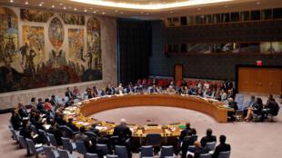 Cuộc họp Hội Đồng Bảo An Liên Hiệp Quốc về Syria, ngày 25/09/2016, tại New York.
