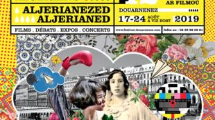 Affiche de la 42e édition du Festival de Douarnenez