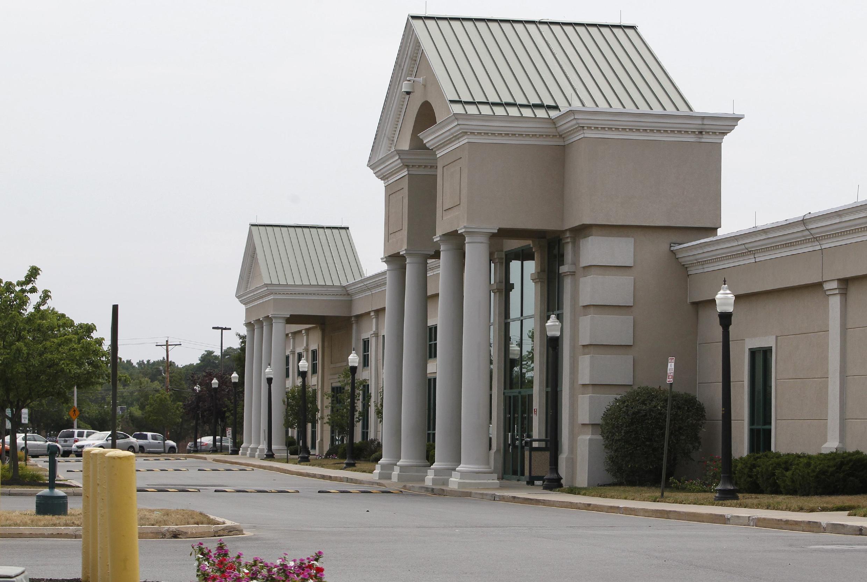 Bên ngoài trụ sở ngân hàng Anh HSBC tại New Castle, thiên đường thuế Delaware của Mỹ. Ảnh chụp ngày 13/07/2012.