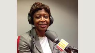 Antoinette Montaigne, ministre de la Communication et de la Réconciliation dans le gouvernement de transition en Centrafrique.