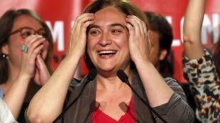 Ada Colau, le 24 mai 2015 à Barcelone.