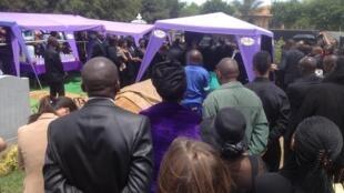 Enterrement à Johannesburg de Patrick Karegeya, l'ancien chef des services secrets du Rwanda, le 19 janvier 2014. (Image d'illustration)