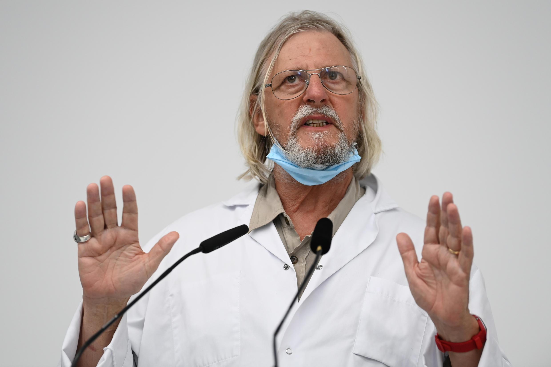 Le médecin français Didier Raoult