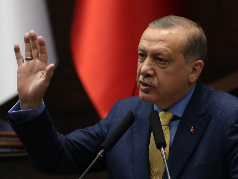 رجب طیب اردوغان رئیس جمهوری ترکیه.