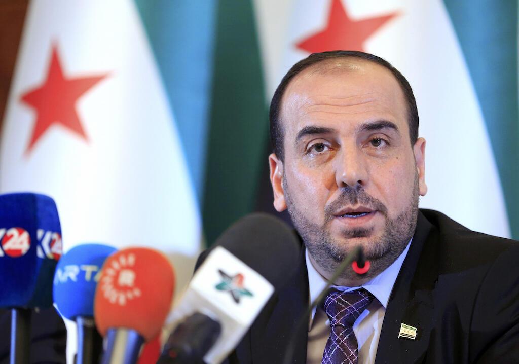 Kiongozi wa ujumbe wa upinzani kwenye mazungumzo ya Syria yanayofanyika mjini Geneva, Nasr al-Hariri