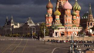 Cathédrale Saint-Basile-le-Bienheureux de Moscou.