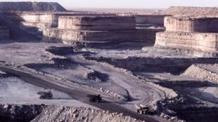 尼日尔的一个矿区