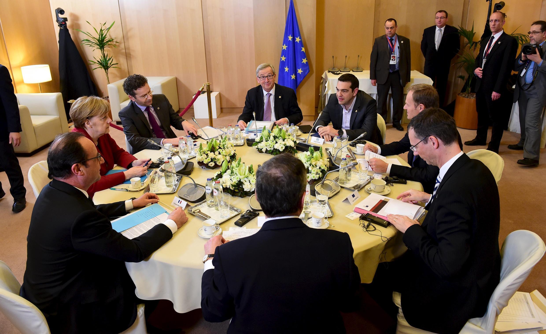 Саммит лилеров Евросоюза, Брюссель, 19 марта 2015 г.