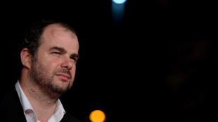 Le réalisateur Cédric Anger en 2014 lors du festival du film de Rome.