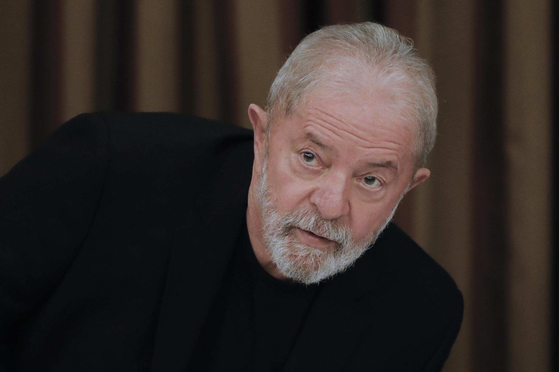 El expresidente brasileño Luiz Inácio Lula da Silva, el 18 de febrero de 2020 en Brasilia