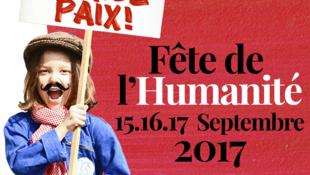 Fête de l'Humanité les 15, 16 et 17 septembre 2017.