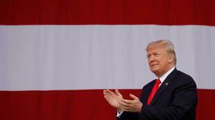Tổng thống Mỹ Donald Trump tại Virginia, ảnh ngày 24/07/2017.