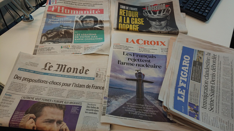 Diários franceses 05.07.2018
