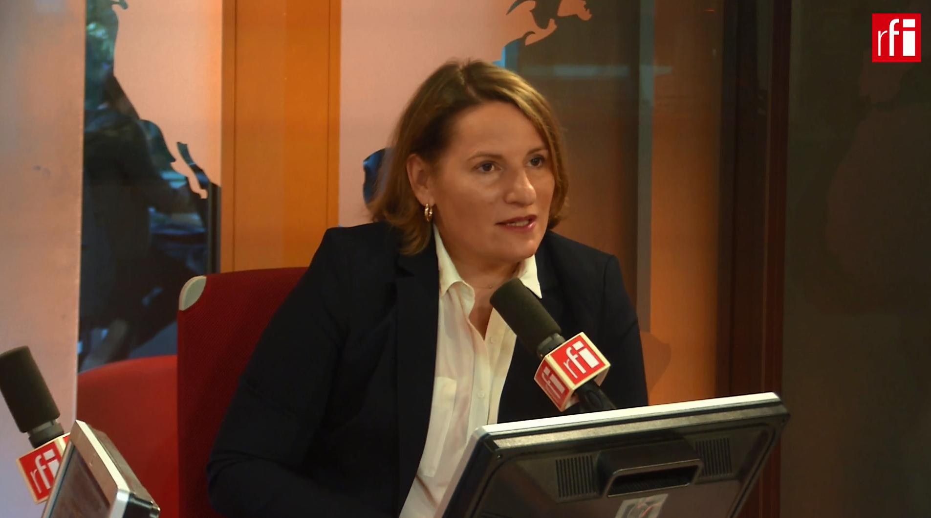 Valérie Rabault sur RFI le 24 septembre 2018.
