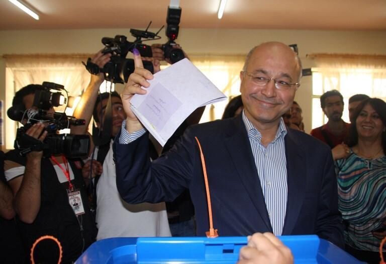 Barham Saleh é eleito presidente do Iraque