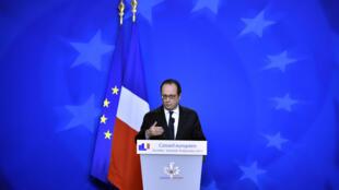 فرانسوا هولاند - شورای اروپا