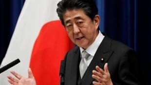 (Ảnh minh họa chụp ngày 11/09/2019) - Thủ tướng Nhật Shinzo Abe đồng ý hợp tác với Hàn Quốc nhưng vẫn cho rằng Seoul phải đi bước đầu tiên.