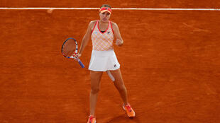 Sofia Kenin advanced to her first semi-final at the French Open after a three set win over Danielle Collins.
